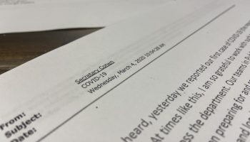 Emails obtained by the NC Watchdog Reporting Network detail the inner workings of DHHS in the early days of the COVID-19 Pandemic. Emily Featherston / WECT