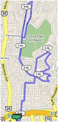 Deconstructing the Citizen-Times Half Marathon - Segment One