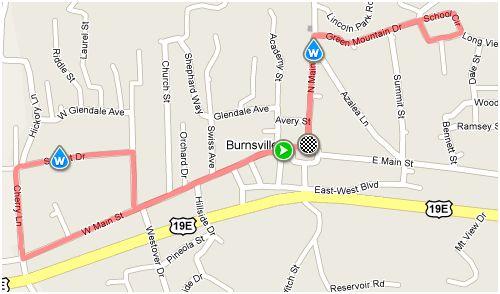 Burnsville Fit Families 5k Burnsville Nc May 8 2010 Carolina
