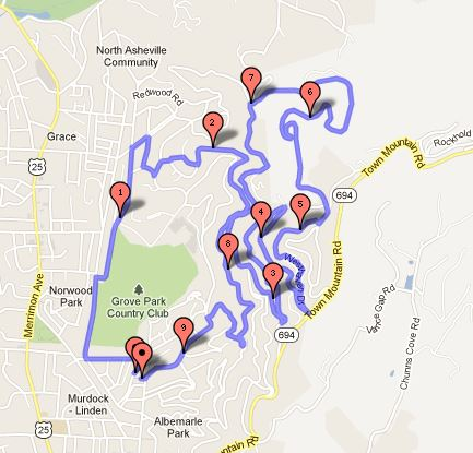Sunset Stampede 2013 - 15k Course Map - Revised - May 18