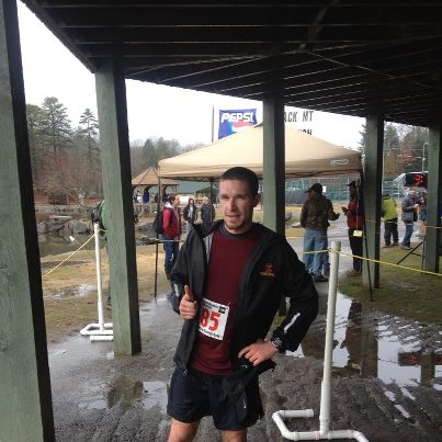 Ben Hall - Marathon Winner