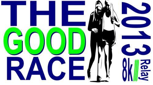 The Good Race 8k Logo 2013