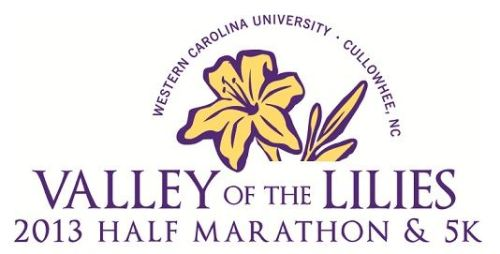 Valley of the Lilies Half Marathon and 5k 2013