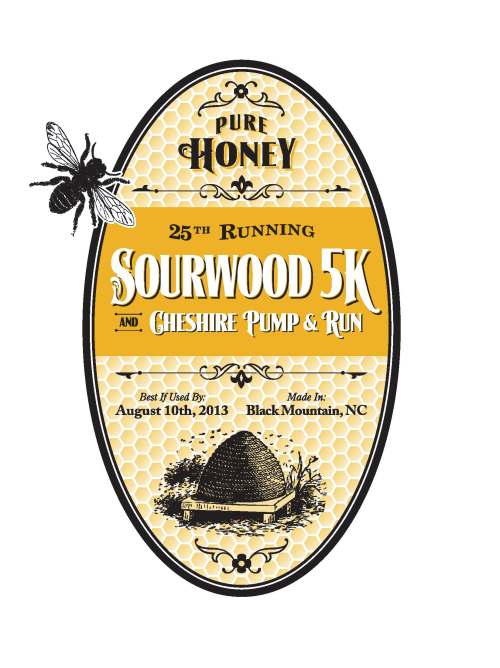 Sourwood 5k Logo 2013
