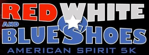2013 Red White and Blue Shoes 5k Banner