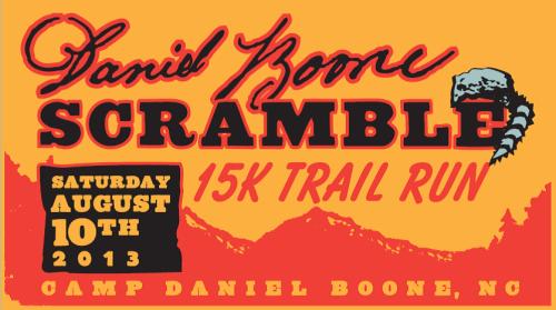 Daniel Boone Scramble Logo