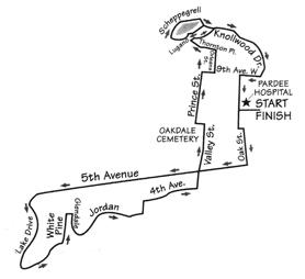Apple Festival 8k Race Course