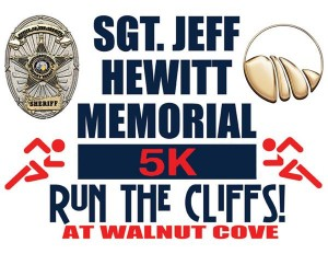 Jeff Hewitt Memorial 5k Logo