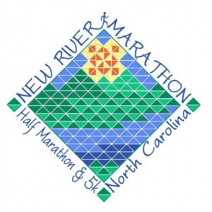 New River Marathon Half Marathon and 5k Logo 2014