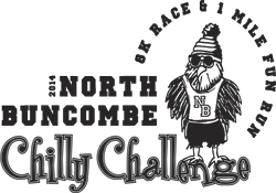 North Buncombe Chilly Challenge Logo