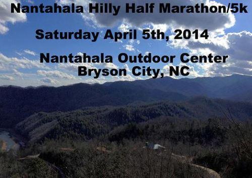 Nantahala Hilly Half Marathon and 5k