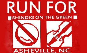 Run for Shindig on the Green