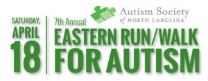 Eastern Run Walk for Autism April 18 2015 Greenville NC
