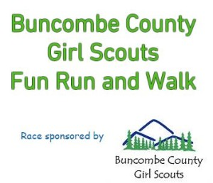 Get Moving with Girl Scouts 5k May 9 2015 Candler NC