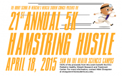 Hamstring Hustle 5k April 18 2015 Greenville NC