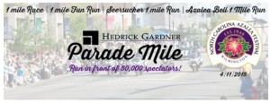 Hedrick Gardner Parade Mile April 11 2015 Wilmington NC
