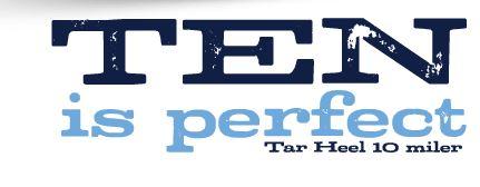 Tar Heel 10 Miler and 4 Mile April 18 2015 Chapel Hill NC