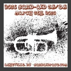 Band aid Race ad