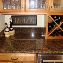 Wood Kitchen Islands Under Cabinet Lighting & Bars, Lake Norman, Nc | Carolinas Custom ...