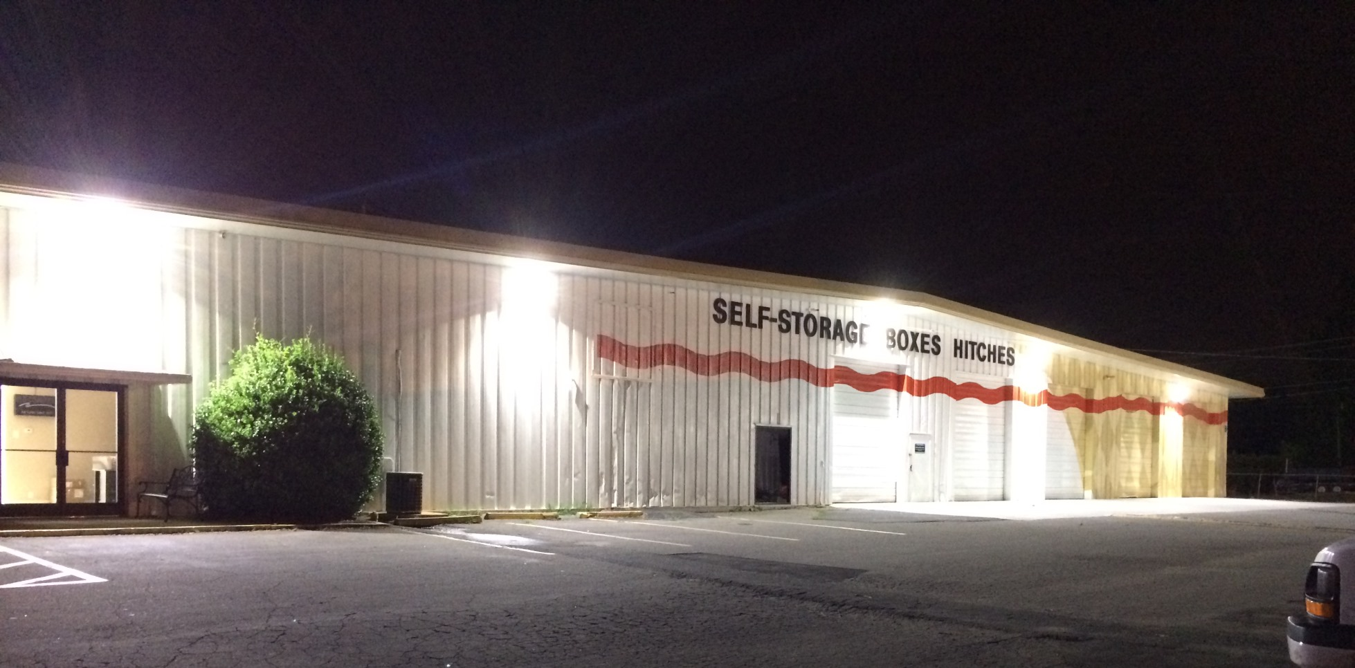 Commercial Outdoor Lighting Charlotte Gastonia Nc