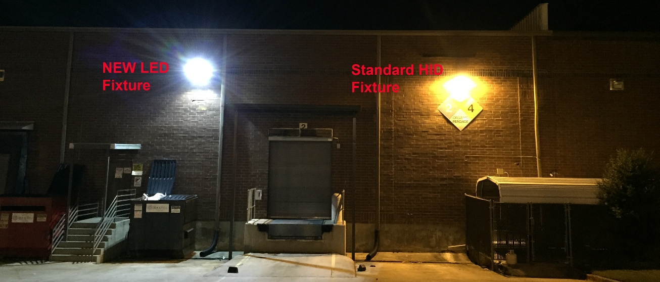 led lighting installs retrofits