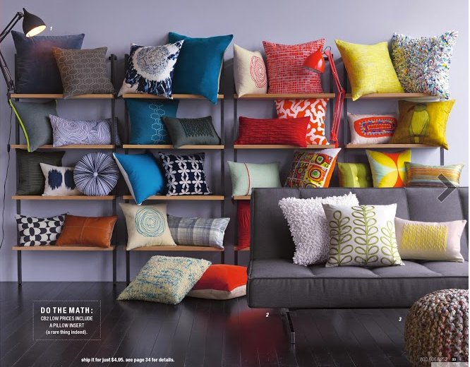 CB2 Pillows