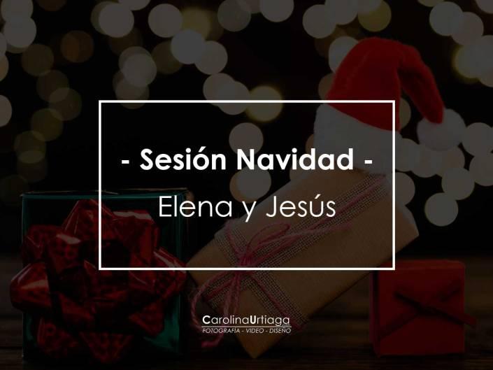 Navidad Elena y Jesús