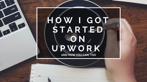 getting started on upwork