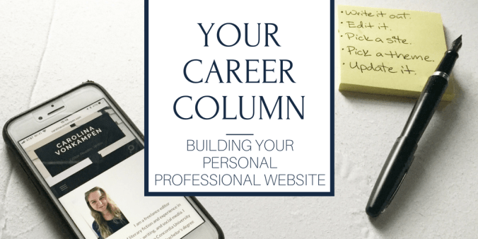 personal professional website