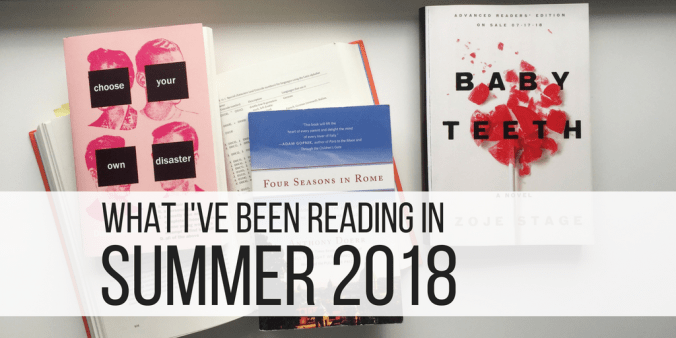 reading in summer 2018