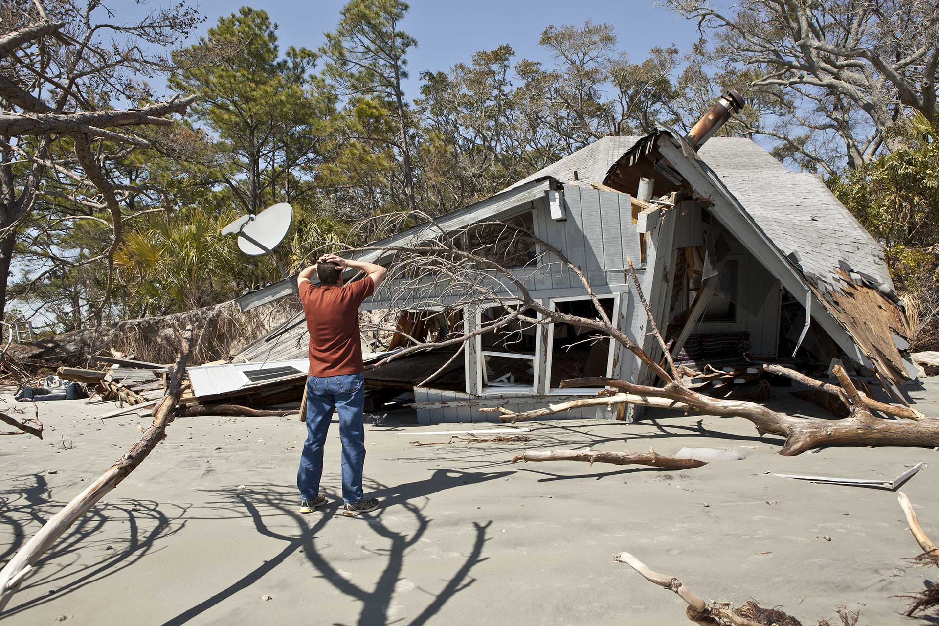 Contact Carolina Water Damage Restoration Garner, NC for Emergency Storm Damage