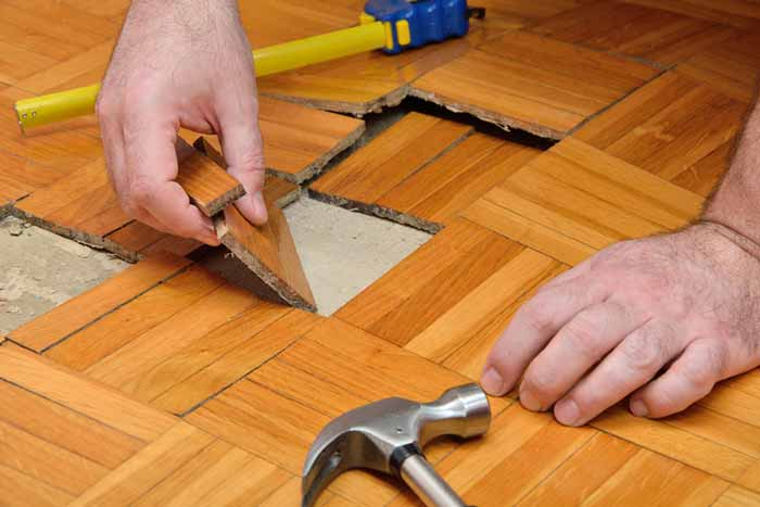 Water Damage Restoration of Hardwood Floors in Morrisville NC Hardwood Floor Water Damage Restoration