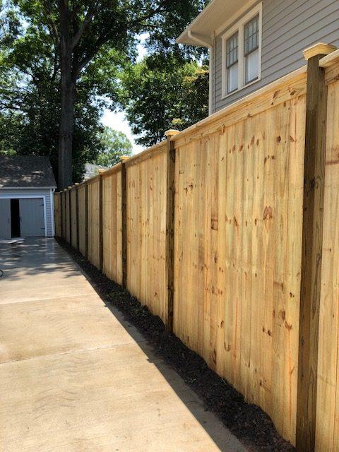 Wood Fencing 187 Carolina Wood Fence