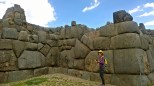 Sacsayhuaman, a fortress about a mile above Cusco