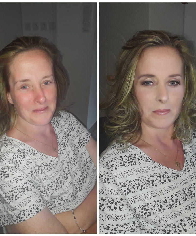 Relooking coiffure maquillage