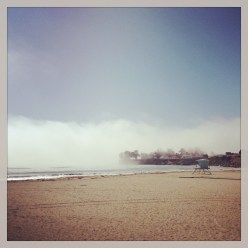 The fog rolls out