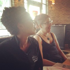 Tammie and Michelle at Pubbelly Sushi
