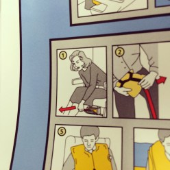 Season 1 Agent Scully demonstrates how to access your life vest...