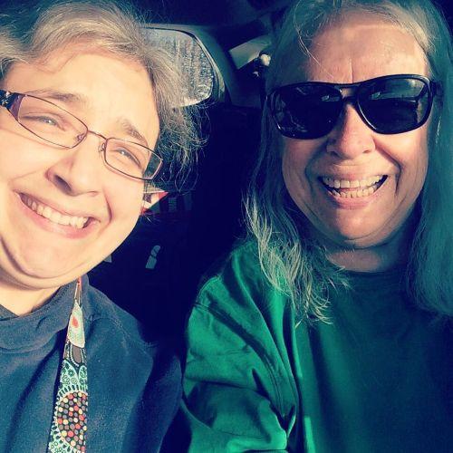 Selfie with mum