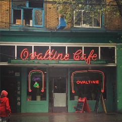 """Ovaltine Cafe from Jose Chung's """"From Outer Space"""""""