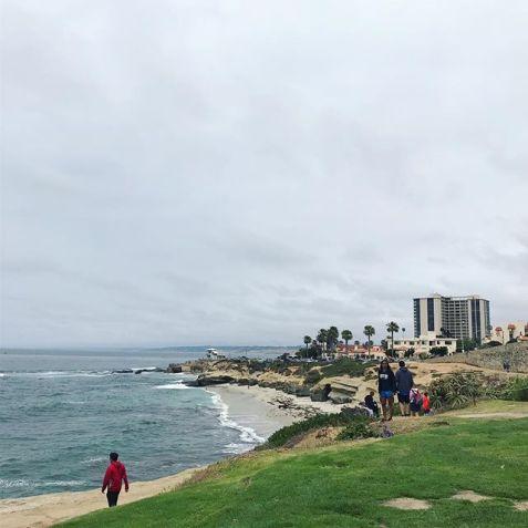 LaJolla coastline