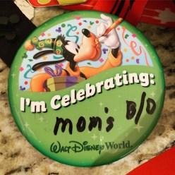 Celebrating...Mom's BO?