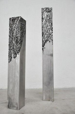 Caroline Brisset  Sculpture metal