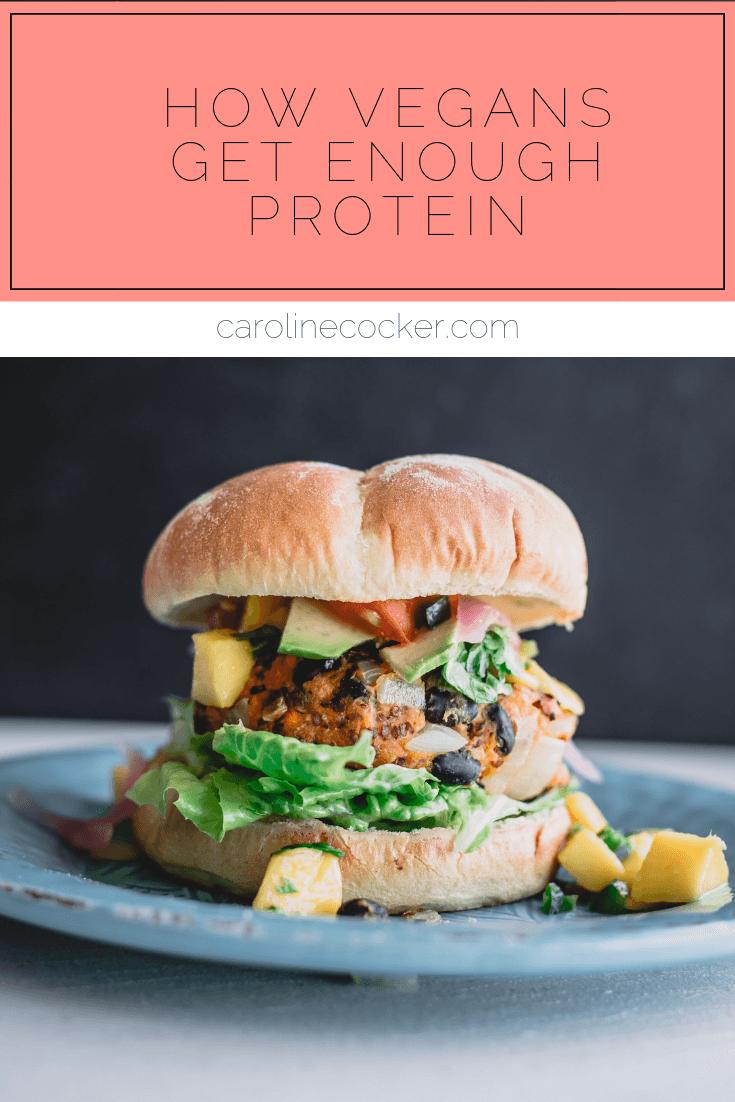 how to get protein on vegan diet