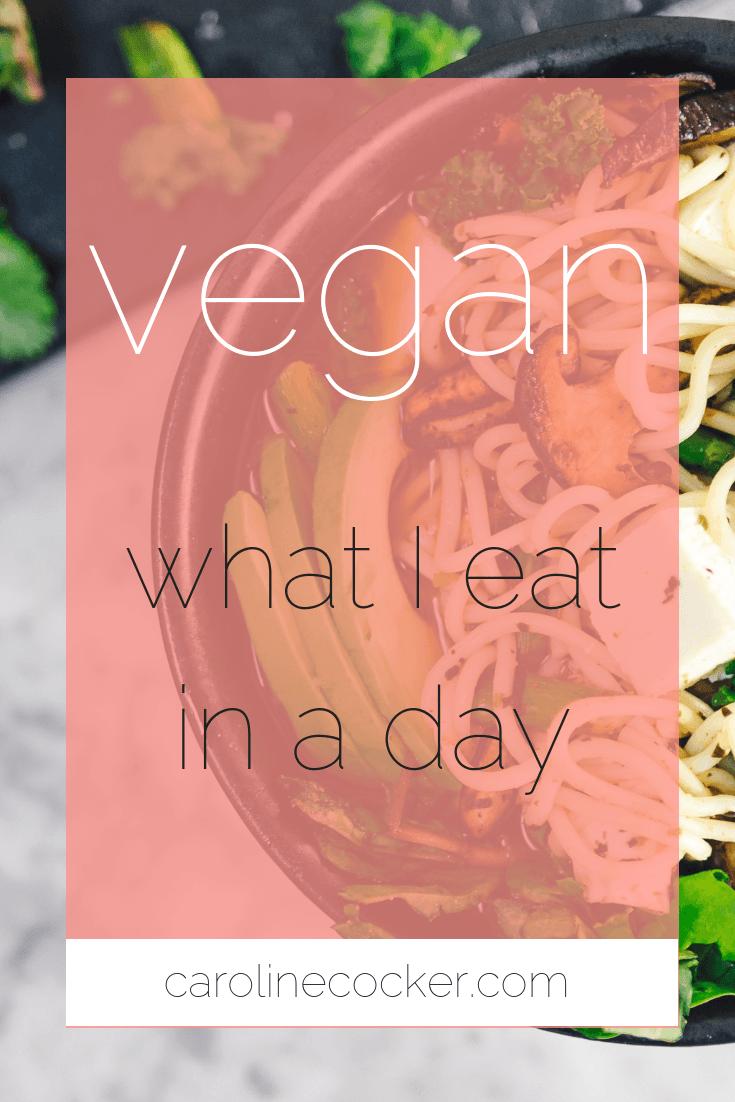 vegan meals