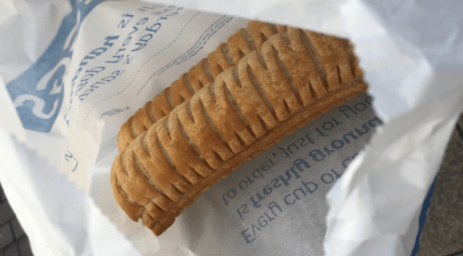 gregg's vegan sausage roll