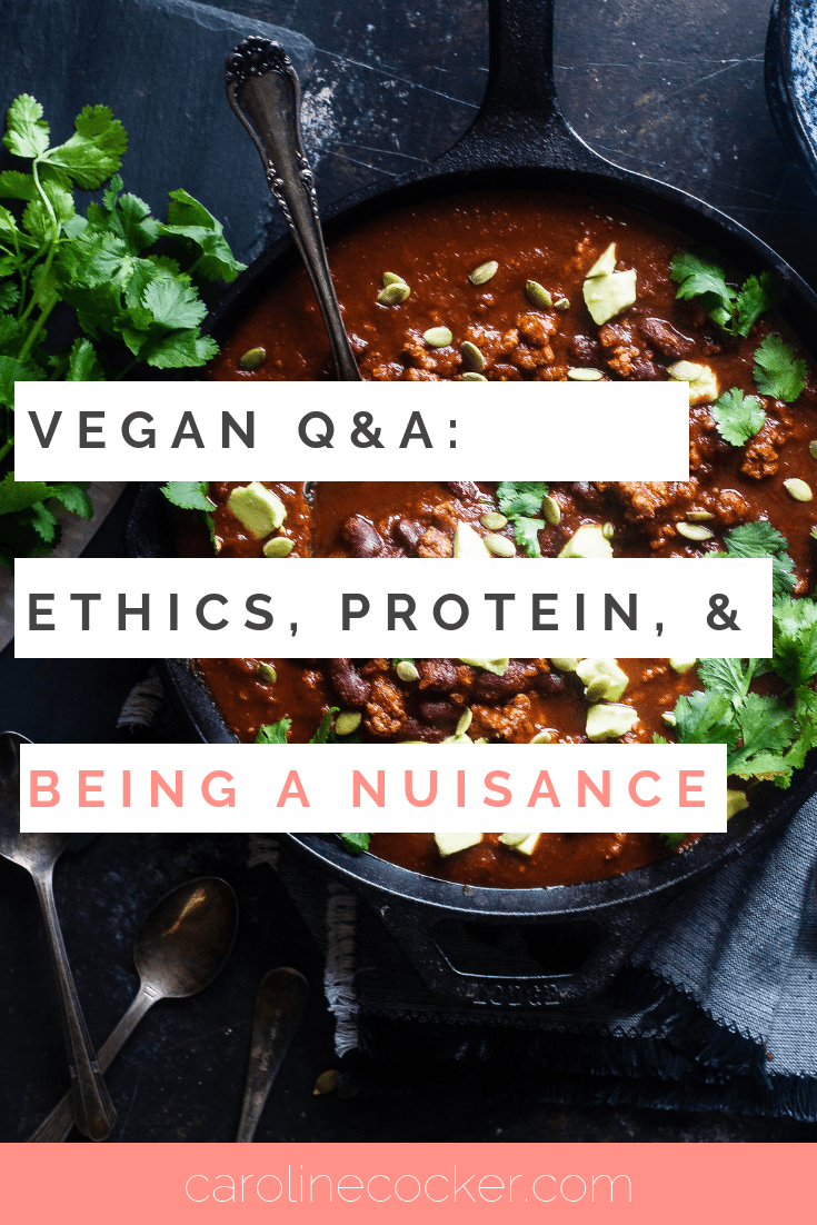 vegan questions