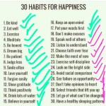 Do You Have Happy Habits?