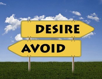 Avoid and Desire signs