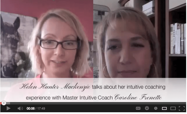 [VIDEO> Honeygirl's Helen Hunter Mackenzie Talks About Her Intuitive Coaching Experience